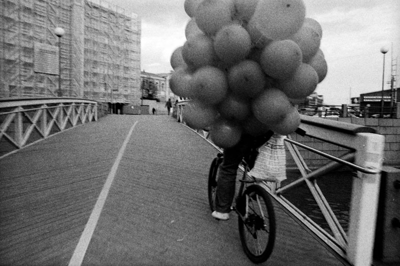 Balloons on Bike